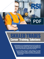 Skilled Trades Career Training Solutions