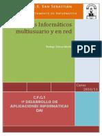 Sistemas Informaticos Multiusuario y Red 3er Infor PDF