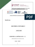 Manual Doctrina Contable i - 2013 - i - II