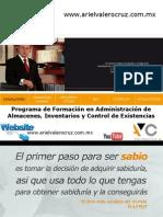 Administración de Almacenes, Inventarios y Control de Existencias (Presentación)