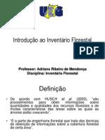 Unidade 1 - Introdução Ao Inventário Florestal