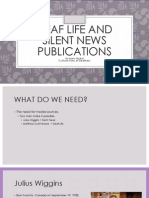 deaf life and silent news publications