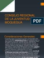 Consejo Regional de La Juventud - Moquegua