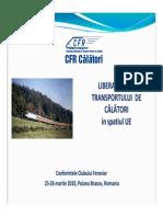 Carmen Filipescu - Liberalizarea Transportului de Calatori