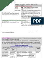 Sample of School Action Plan