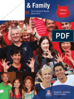 University of Arizona Parents & Family Magazine Spring 2014