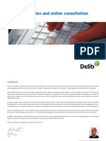 Delib - Local Authority Audit of Online Consultation