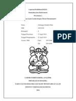 Laporan 2 Identifikasi Asam Lemah Dengan Titrasi Potensiometri