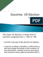 Doctrine of Election
