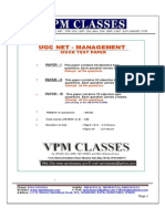 Ugc Net_management_free Solved Paper_english Version