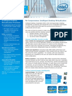 Intelligent Desktop Virtualization Core Vpro Solution Brief