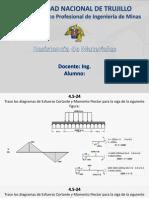 Solucion de Problemas - Resistencia de Materiales - EsfuerzoCortante+MomentoFlector.ppsx