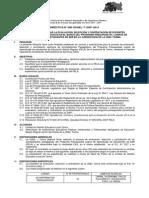 Directiva Para El Concurso Público Para Contrata de 10 Acompañantes Pela - Tarma 2014
