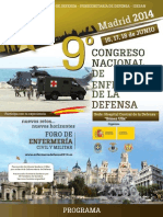 Programa Preliminar 9DEFENSA