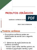 Aula Produtos Ceramicos