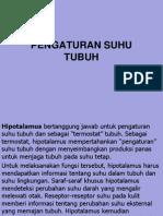PENGATURAN SUHU TUBUH