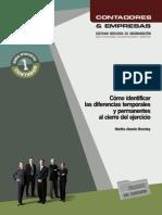 Manual Operativo Nº 1 - Cómo Identificar Las Diferencias Temporales y Permanentes Al Cierre Del Ejercicio