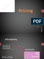 Pricing in Rural Market