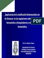 Clasificacion biofarmaceutica