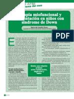 Terapia Miofuncional en Sdd