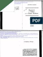 2014-03-18 - GRAMSCI - Maquiavel,A Política e o Estado Moderno