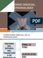 Exposicion Transtorno Disocial de La Personalidad Diego