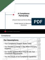 compliance sales presentation