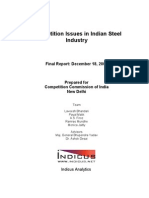Competition Issues in Indian Steel Industry