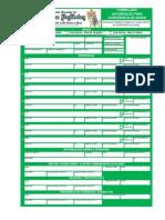 Formulário de Autorização Para Conferência de Graus