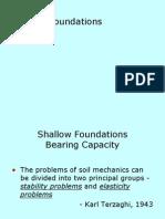 Shallow Foundation
