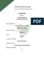 Plan de Negocios (Chile Poblano).