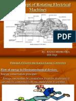 Principal of Electro-mechanical Energy Conversion