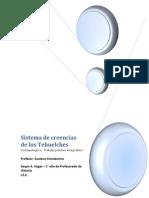 Trabajo Practico I - Sistema de Creencia de Los Tehuelches