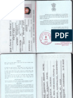 Current Passport First Last Page