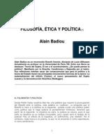 Badiou, Alain - Filosofía, Ética y Política.pdf