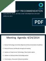 Cover Oregon Final Tech Meeting