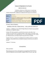 Pl-cod Penal-Violacion de Domicilio