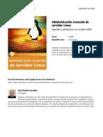 Curso Administracion Avanzada de Servidor Linux