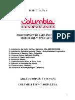 0-Procedimiento de Instalacion Sistema