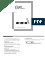 TGM220 English Manual