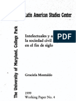 Argentina Fin de Siglo XIX Montaldo