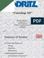 Präsentation Centrifuge