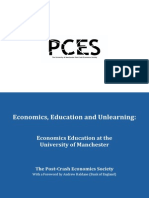 Economics Education and Unlearning