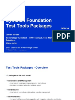 SIG09 SF Test Tools Packages