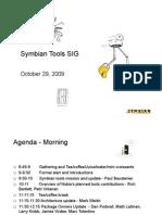 Symbian Tools SIG