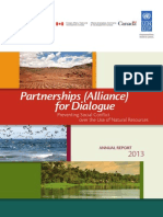 Annual Report 2013 _ Partnerships (Alliance) for Dialogue