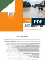 Plan departamental de contingencias para desastres naturales. Santa Cruz