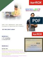 Excel in IT Net Working Course By Karrox