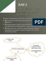 Bab 5 - Pemuafakatan Politik Dlm Konteks Hub Etnik Di Malaysia