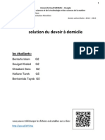 Devoir Dmoicile Correction